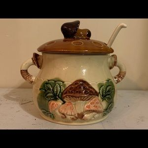 Vintage Empress Haruta China Mushroom Soup Tureen